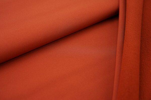 Softshell-Stoff uni rost terrakotta