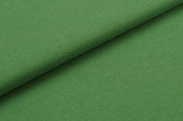 XXL Bündchen Marie glatt Schlauchware grün