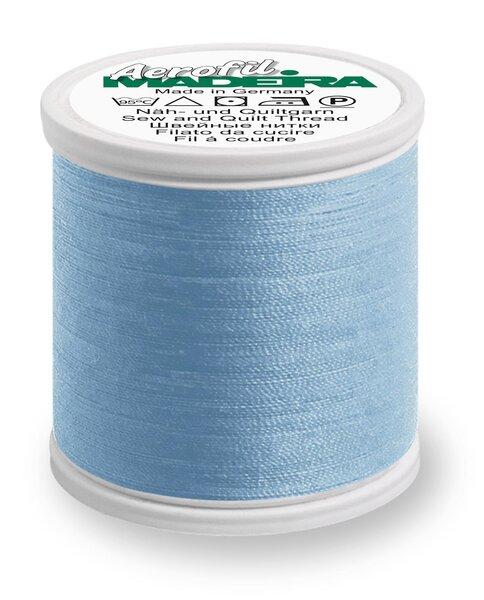 Madeira Nähgarn Aerofil No. 35 extra stark Farbe 8750 hellblau