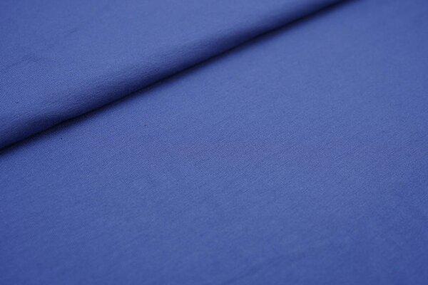 Viskose-Jersey uni taupe blau