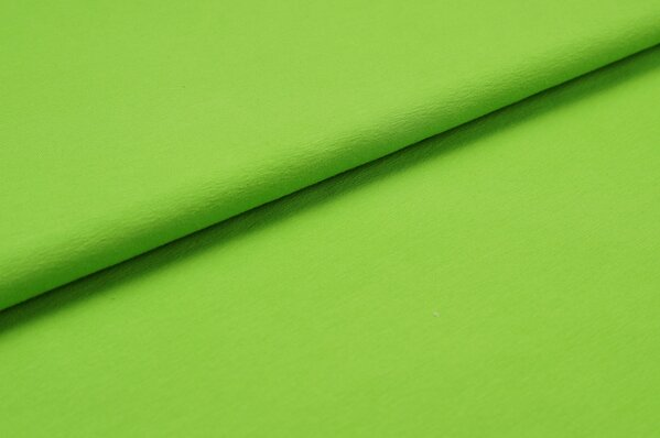 XXL Bündchen LILLY glatt Schlauchware grasgrün