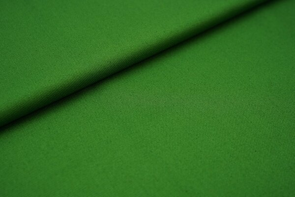 Canvas-Stoff Dekostoff einfarbig uni waldgrün