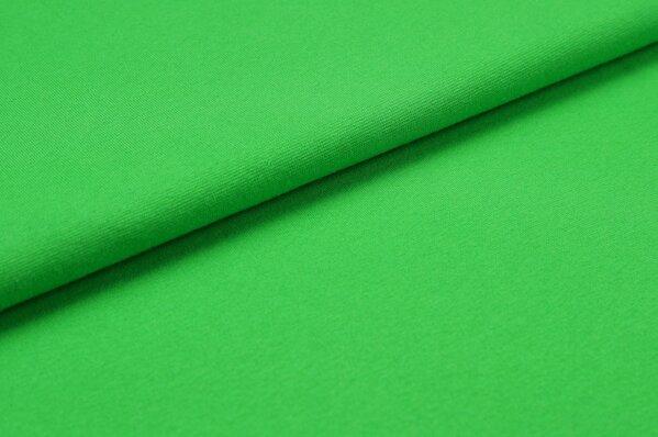 XXL Bündchen LILLY glatt Schlauchware apfelgrün