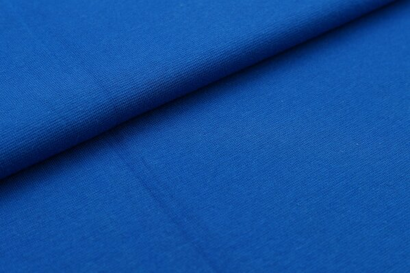 XXL Bündchen LILLY glatt Schlauchware royalblau königsblau