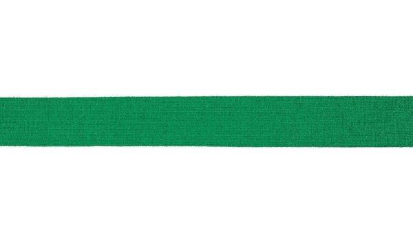 Viskose-Jersey Schrägband uni grün 20 mm Einfassband