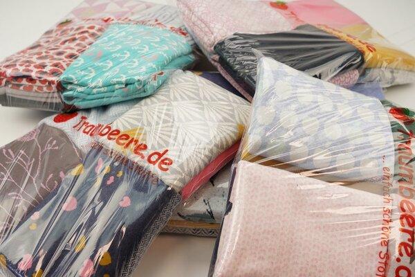 Stoffpaket Jacquard Mix verschiedene Farben / Muster gemischt