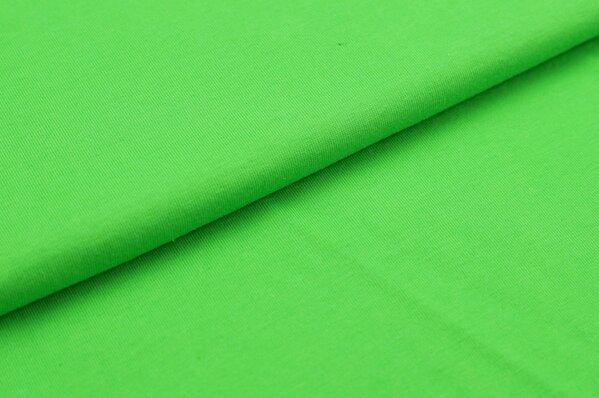 XXL T-Shirt Stoff LILLY uni apfelgrün