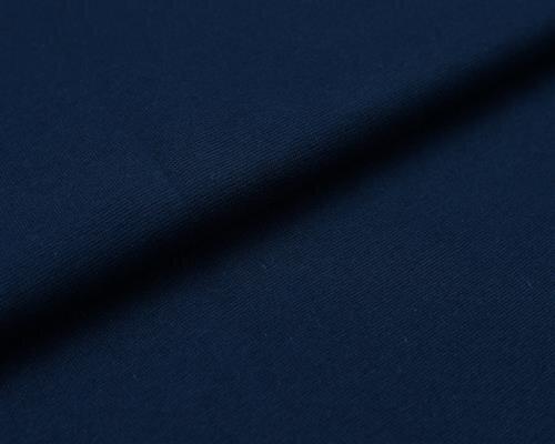 XXL Bündchen LILLY glatt Schlauchware dunkelblau