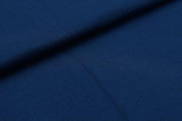 XXL T-Shirt Stoff LILLY uni marineblau