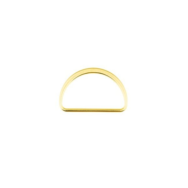 Metall D-Ring 40 mm gold