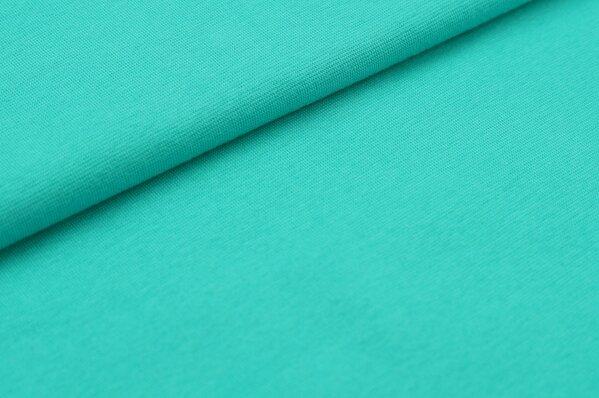 XXL Bündchen Marie glatt Schlauchware seegrün