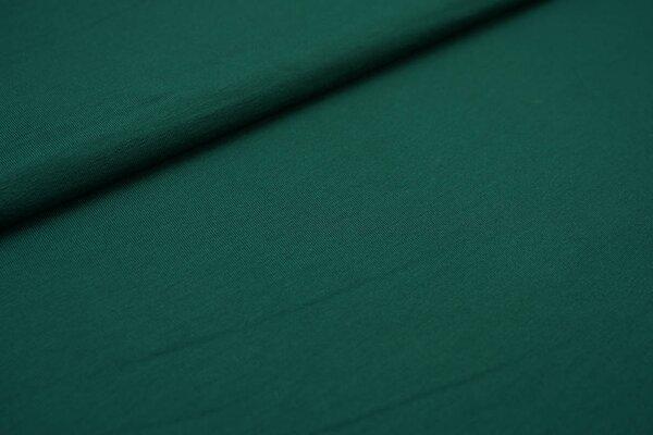 Viskose-Jersey uni dunkelgrün