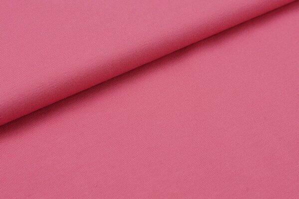 Baumwoll-Jersey uni rosé