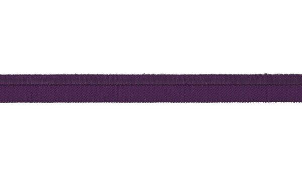 Elastisches Schimmer Paspelband lila 10 mm