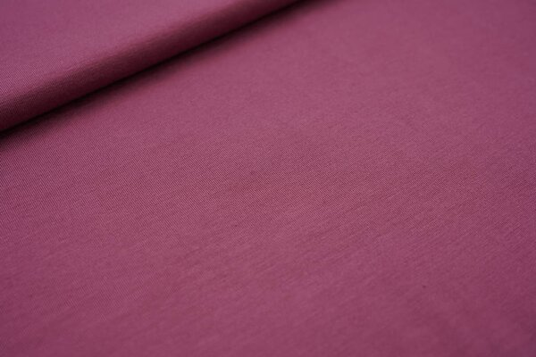 Bambus-Jersey uni rotviolett