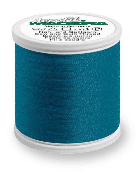 Madeira Nähgarn Aerofil No. 35 extra stark Farbe 8934 blaugrün