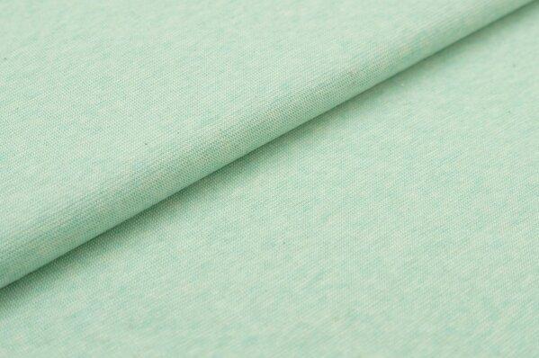 XXL Bündchen Maya glatt Schlauchware pastell mint melange