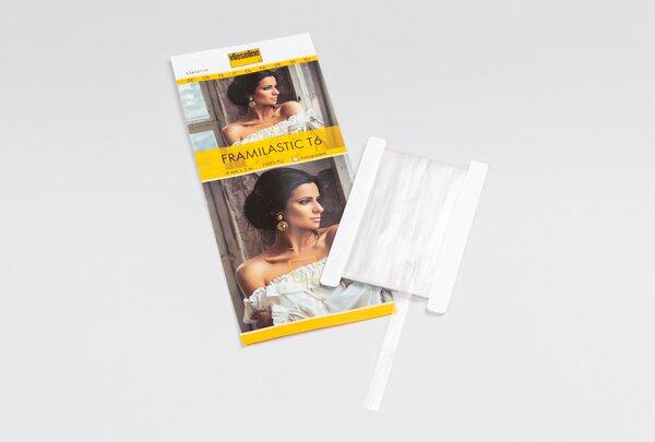 Vlieseline Framilastic T6 nähbares Band 6 mm x 5 m transparent