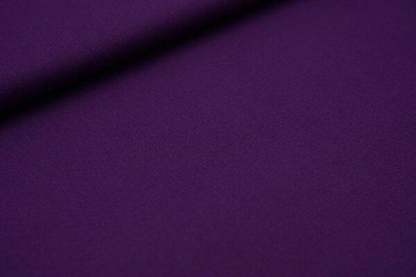 Baumwollstoff Baumwolle uni dunkel lila
