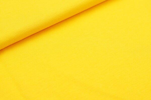 XXL T-Shirt Stoff LILLY uni orange gelb