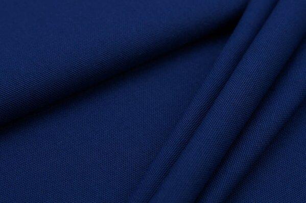 Canvas-Stoff Dekostoff uni dunkelblau
