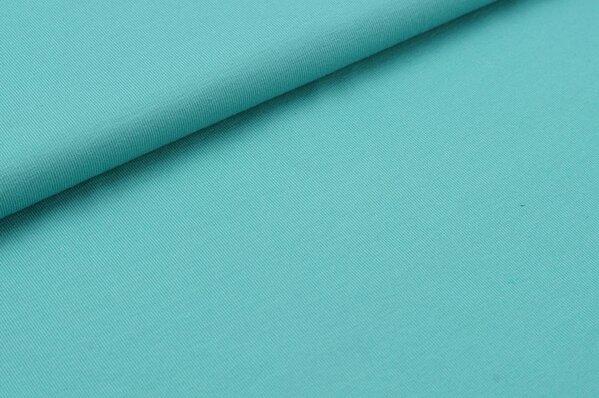 Baumwoll-Jersey uni dunkel eisblau