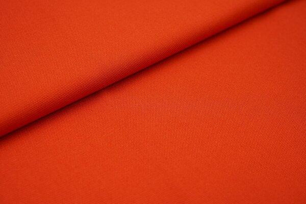 Canvas-Stoff Dekostoff einfarbig uni rostorange