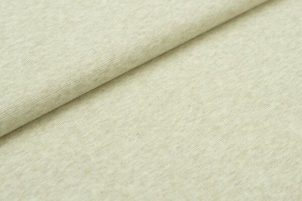 XXL Bündchen Maya glatt Schlauchware pastell beige melange